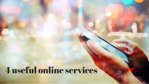 4 useful online services