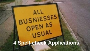 4 Spell-check Applications