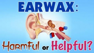Don't use q-tips for ear wax removal!