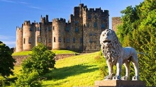 The Most Beautiful Castles – Alnwick Castle, England
