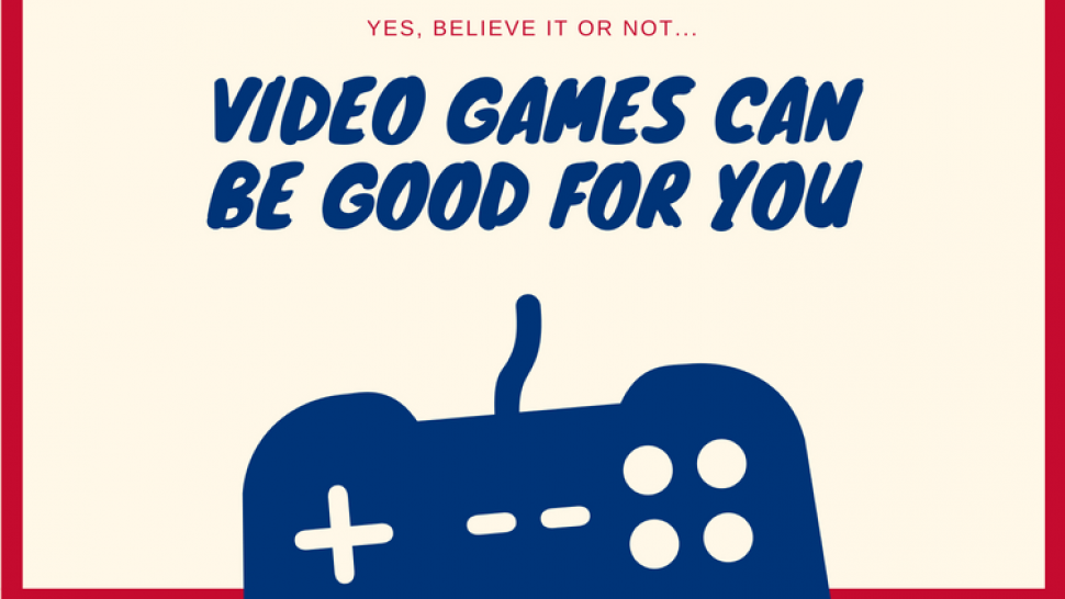 Are games healthy for us? Scietence said YES