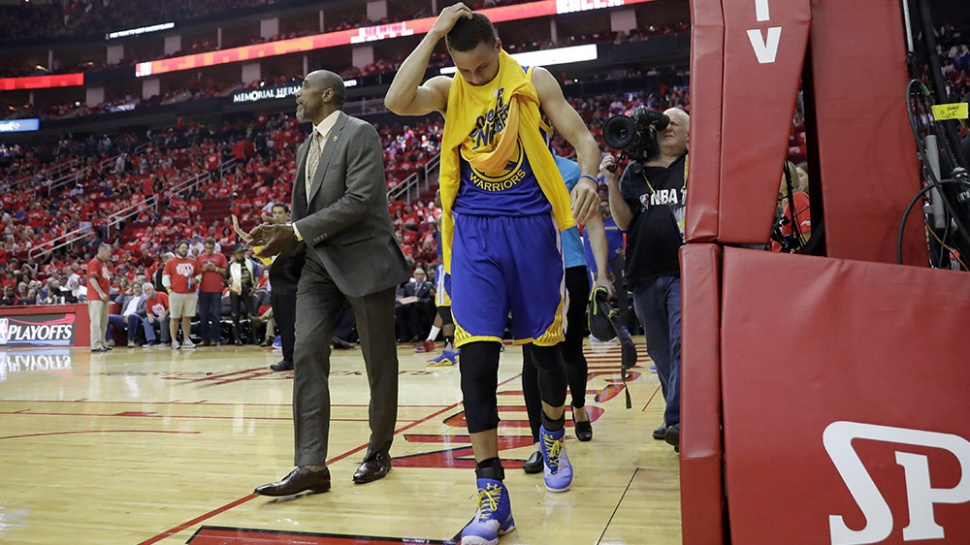 Stephen Curry Injured