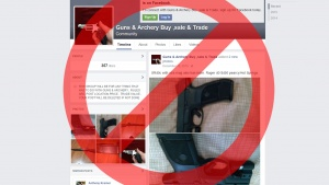 Facebook Bans Private Firearm Sales