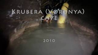 Krubera Voronya cave: dive through Kvitochka